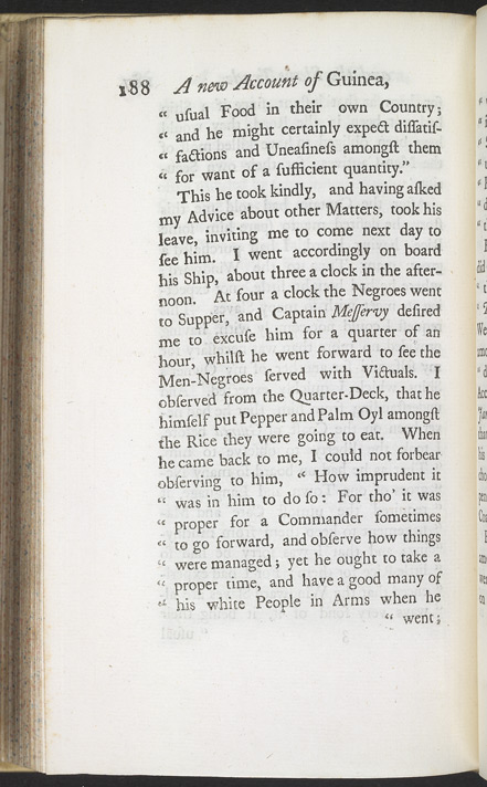 A New Account Of Some Parts Of Guinea & The Slave Trade -Page 188